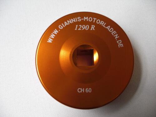KTM 1290 R SUPER DUKE  Radmutterschlüssel Hinterrad orange eloxiert Bj 2015