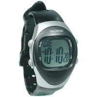 Unisex Talking Watch With 4 Alarms -english Speaking Low Vision Or Blind
