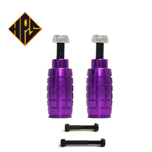HPS Paire de de Paire Pegs Trottinette Freestyle essieus 50