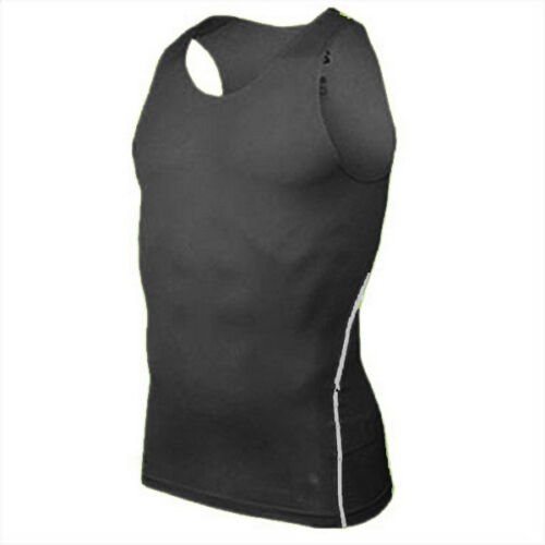 Herren Kompressions Funktions Muskelshirt Unterhemd Sport Tanktop Achselhemd