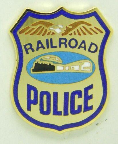 NEW Railroad Police  #1685 Railroad Hat-Lapel Pin//Tac