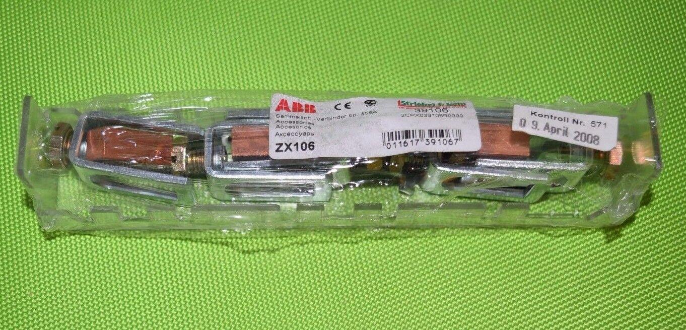 ABB ZX106 Sammelsch.-Verbinder 5p. 355A  2CPX039106R9999 2CPX039106R9999 2CPX039106R9999 Striebel & John (483)   Die Königin Der Qualität  a848e9