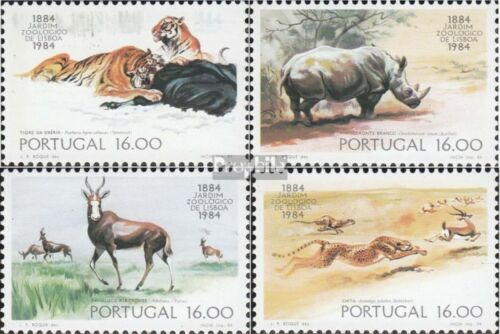 Portugal 16171620 complete issue unmounted mint never hinged 1984 Zoo