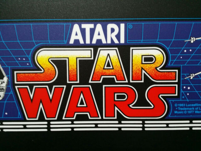 STAR WARS Marquee Screen Printed from the Original ATARI Films PA EXCLUSIVE!