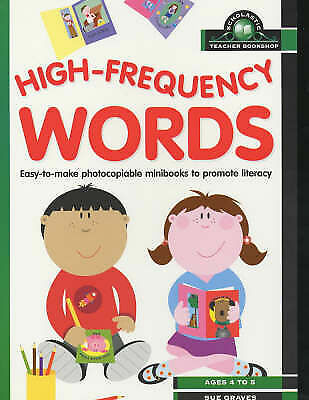 High Frequency Words (Scholastic Teacher Bookshop), Graves, Sue, Used; Good Book