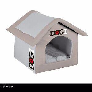 Maison Niche Panier Chien Chat En Mousse Lavable Confortable Neuve 42 Cm