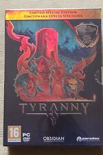 Tyranny Limited Edition (PC)- NEW & SEALED EXCLUSIVE BOX Collector's Edition