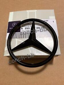 Mercedes-Benz-W253-posterior-arranque-estrella-Glc-SUV-insignia-emblema-Brillo-Negro-A2538170016