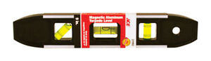 "DéTerminé New! Johnson Level Ace Aluminum 9"" Magnetic Torpedo Level 27093"