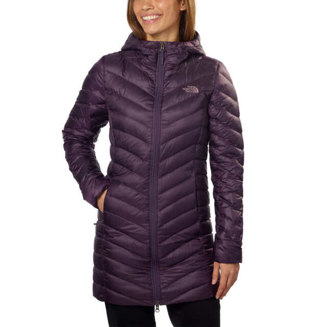 d4d222ae8 The North Face Trevail Parka Jacket Size M Eggplant Purple 800 Fill
