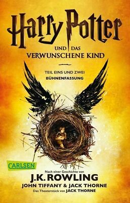Harry Potter Und Das Verwunschene Kind Buch