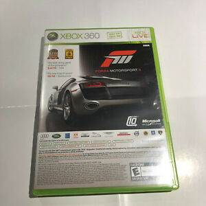 XBOX 360 Halo 3 ODST/ Forza Motorsports III 2-Game Dual Pack 4 Disc Set Complete