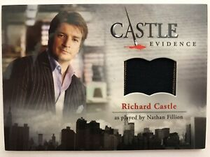 CASTLE-Seasons-1-amp-2-Cryptozoic-Nathan-Fillion-RICHARD-CASTLE-M29-Wardrobe