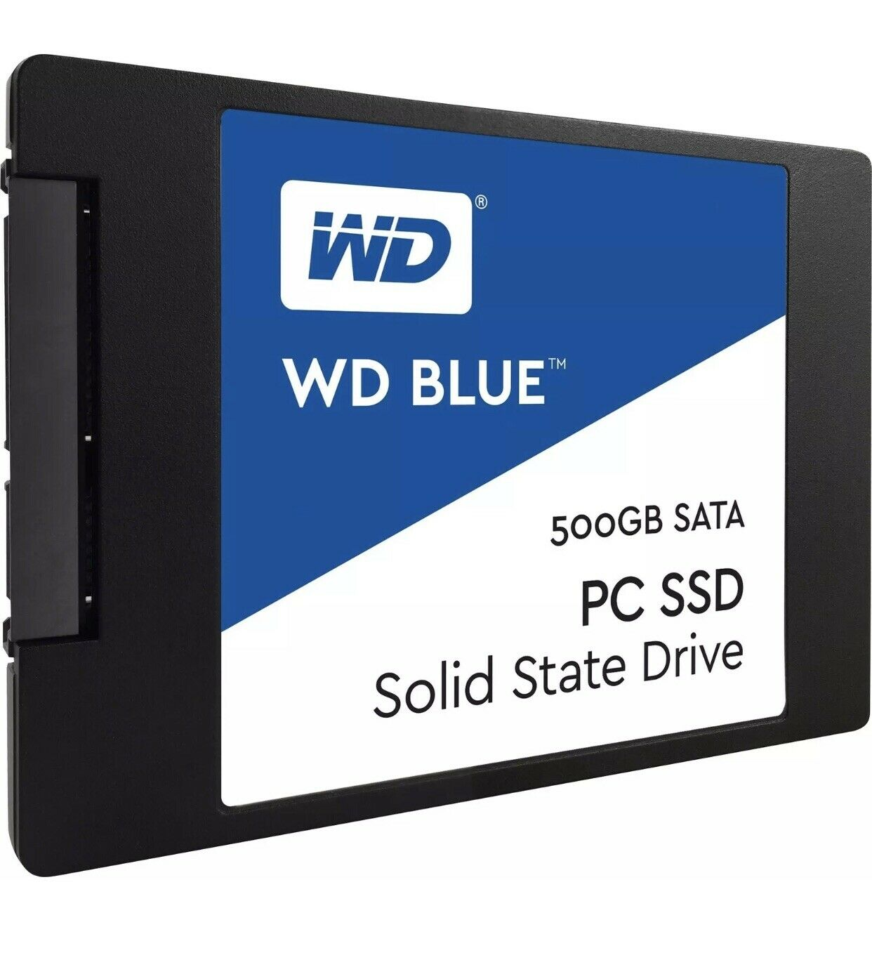 WD - Blue 500GB Internal SATA Solid State Drive‼️✅🌟‼️(SEALED). Buy it now for 51.25