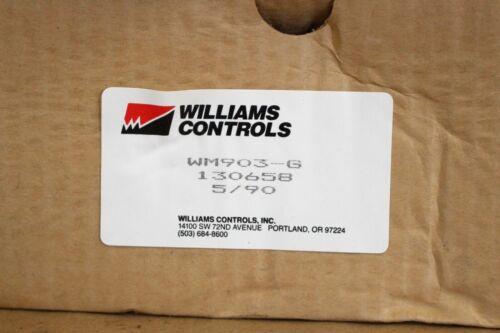 WILLIAMS CONTROLS EXHAUST BRAKE WM780A4 MOUNTING KIT WM903-G NEW SURPLUS