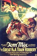 The Great K & A Train Robbery - 1926 - Tom Mix John Wayne - Vintage b/w Film DVD