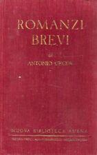 ROMANZI BREVI ANTONIO CECOV ERME CADEI 1932 TREVES TRECCANI TUMMINELLI (UA193)