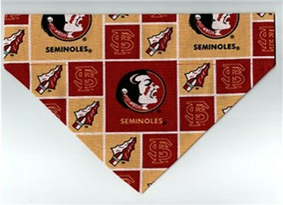 Pet Dog Bandana Scarf FLORIDA STATE UNIVERSITY SEMINOLES