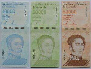 lot-de-3-billets-du-Venezuela-de-2019-10000-20000-50000-bolivares-nouvel
