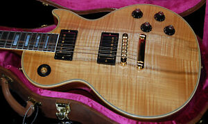 Gibson-Custom-Shop-Limited-Les-Paul-Custom-Modern-Heartwood-Flamed-to-Death-MINT