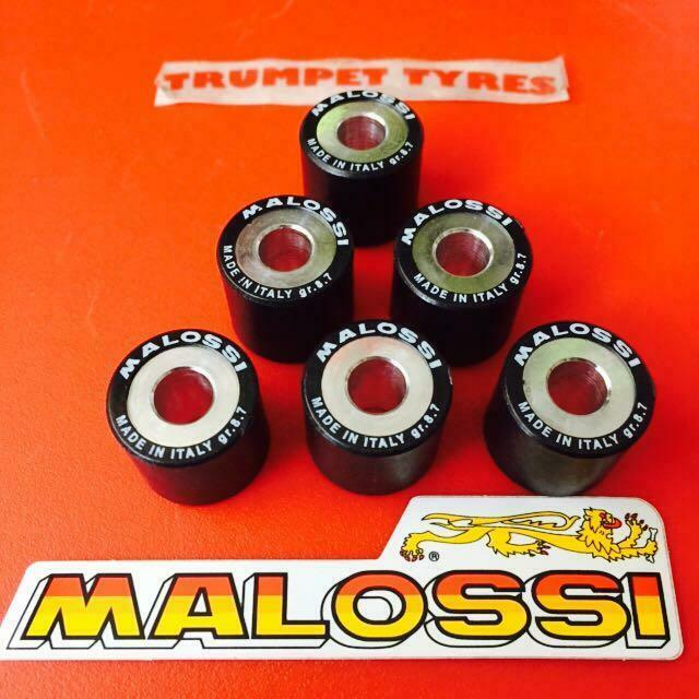 VESPA S 125 19 X 17x 8.7gr GRAM Malossi Roller Weights Rollers Set