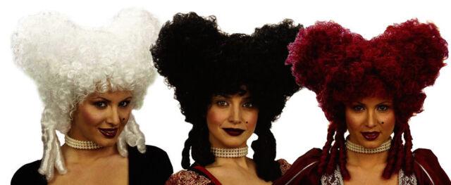 Queen Ladies Baroque Noblewoman Black Wig For Hair Accessory Fancy Dress