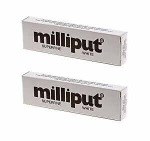 2-x-Milliput-Superfine-2-Part-Self-Hardening-Epoxy-Putty-White-DIY-113g-4oz