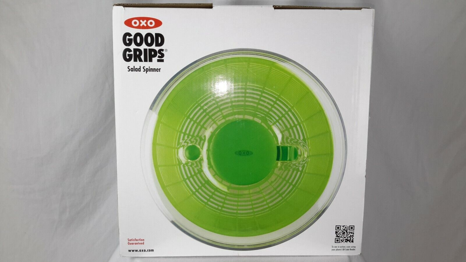 OXO Good Grips Salad Spinner 4.0 BPA free #1 Rated Dishwasher Safe New in Box