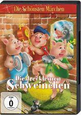 DVD Die schönsten Märchen: Die drei kleinen Schweinchen +Bonus Hänsel und Gretel