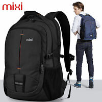 """Mixi 20"""" Mens Computer Laptop Backpack Cool Travel Daypack School Work Book Bags"""