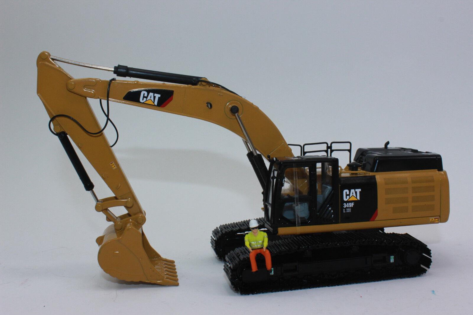 promozioni eccitanti Diecast Masters 85943 349f L XE XE XE catene Escavatore CAT Caterpillar 1 50 NUOVO IN SCATOLA ORIGINALE  Senza tasse