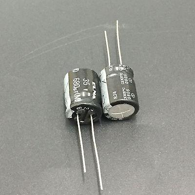 10pcs 10V47UF 10V 5X7mm ELNA top grade Capacitor For Audio
