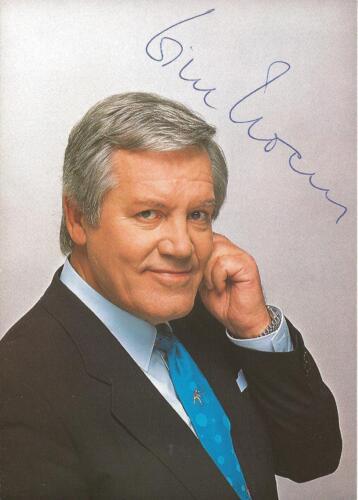 1995 Der Große Preis Aktuelles Sportstudio Moderator Ohr# Autogramm Wim Thoelke