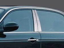Fits Jaguar XJ8 2004-2008 QAA Stainless Chrome Polished Pillar Posts 4PC PP24094