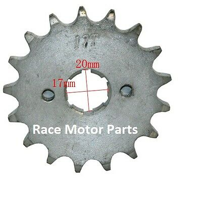 #428 15T 20mm shaft Drive Sprocket Pit Bike Dirt ATV Coolster Roketa Honda Lifan