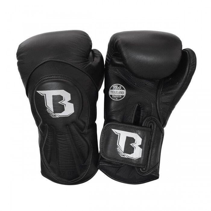 Booster BGL 1 1 1 V8 schwarz Boxhandschuhe 12-16oz Leder Muay Thai Kickboxen K1 b4055e
