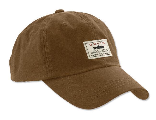 Orvis Vintage Waxed Cotton  Ball Cap (Choose color)  cheapest
