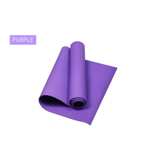 Yogamatte JOY Yoga Matte Pilates Gymnastikmatte Sportmatte 173x60x0.4cm