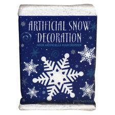 2.5 Qt Christmas Winter Wonderland Artificial Plastic Prop Snow Decoration