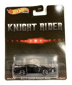K.I.T.T Super Pursuit Mode Knight Rider Retro KITT 1:64 Hot Wheels GJR38 DMC55