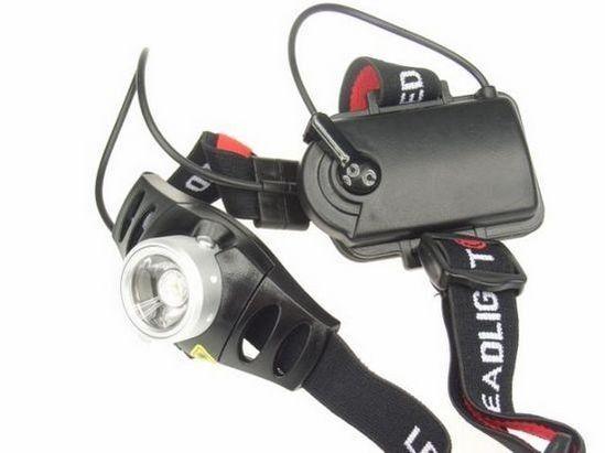 Camping FEUX LED Réglable Lampe Lampe Lampe de Tête Lampe Vélo Imperméable Lampe frontale ed9cc9
