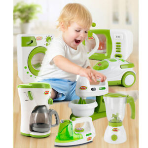 Details about Christmas Children Gift Play Kitchen Home Appliances Kid  Pretend Toy Cooking Fun