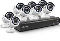 NEW Open Box Swann SWDVK-845008-US DVR8-4500 8 Channel 1080p DVR w 8 X cameras