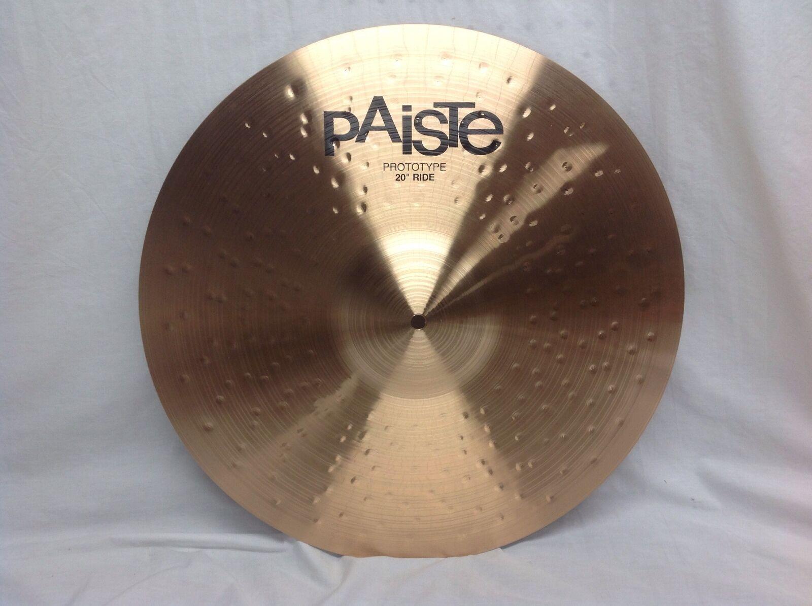 PAISTE T20 20  Medium Ride Cymbal New Prototype Model Warranty 2141 Grams(1002)