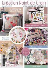 French cross stitch magazine Creation point de croix No.63