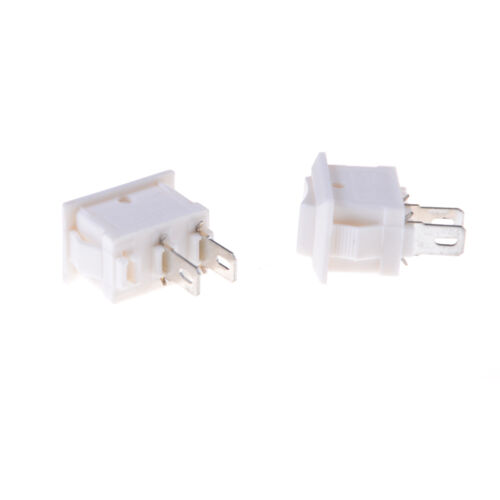 10pcs 2pins KCD11 On//Off 3A 250V 15x10mm Rockers Power Switch White TYUK