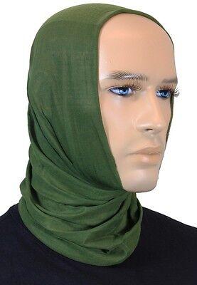 Army Schal Balaclava Scarf Bandana Snood Olive Green MULTIFUNCTION HEADGEAR