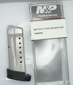Smith Amp Wesson SampW MampP Shield Magazine Mag 8 Rd Round 9mm