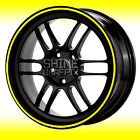 """Wheel Stripes for 18"""" Wheels ALL MAKES - CHOOSE COLOR & WIDTH any Vehicle"""