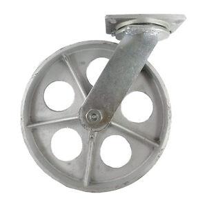 """12"""" x 2-1/2"""" Steel Wheel Caster - Swivel"""